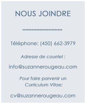 contact Suzanne Rougeau